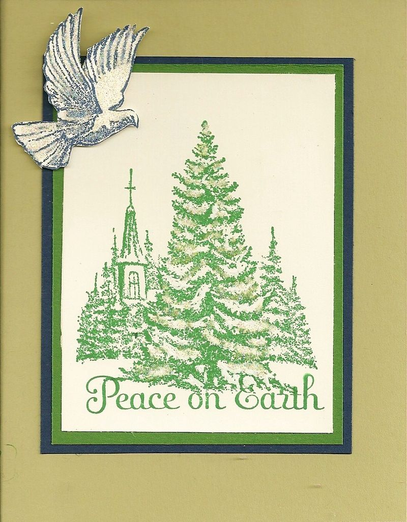 Peace on Earth Stamp A Stack