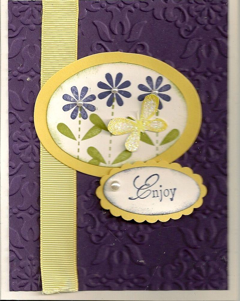 Springtime BD card