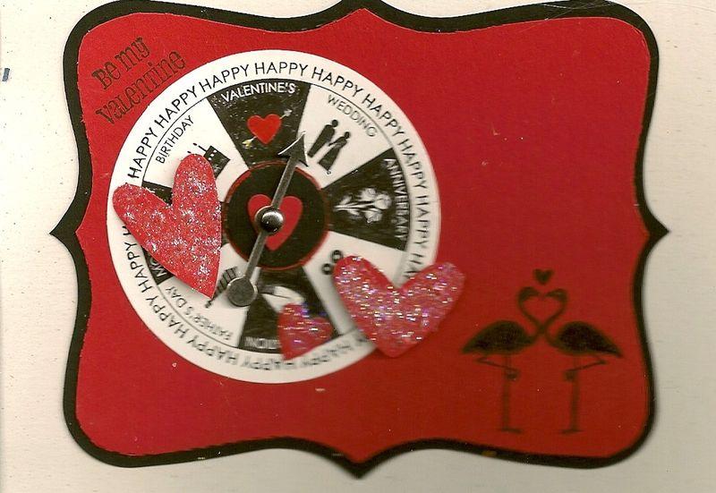 Valentine spinner card