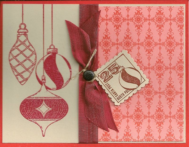 Cherryi Cobler Embossing Powderand Merry &Type
