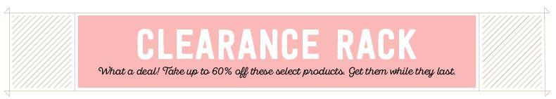 Clearance rack 3