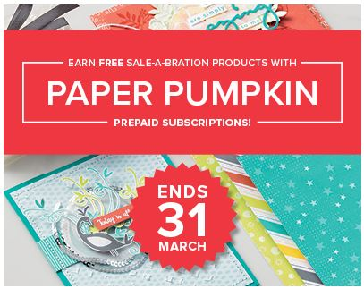Paper pumpkin promotion 2018
